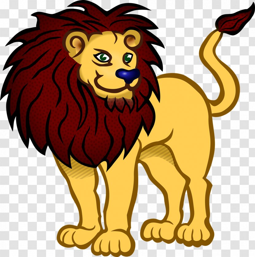 African Wild Dog Baby Jungle Animals Lion Clip Art - Cartoon Transparent PNG