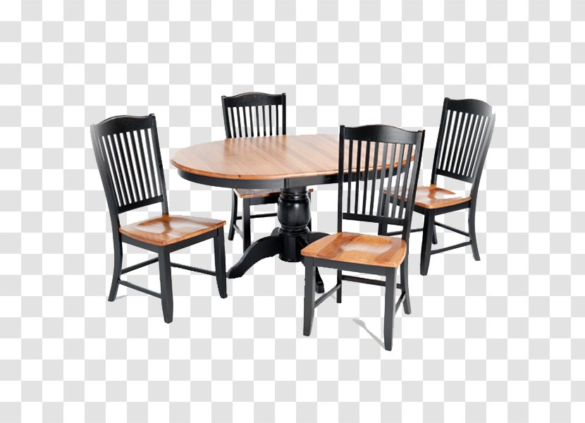 Table Dining Room Matbord Chair Furniture - Top Views Transparent PNG