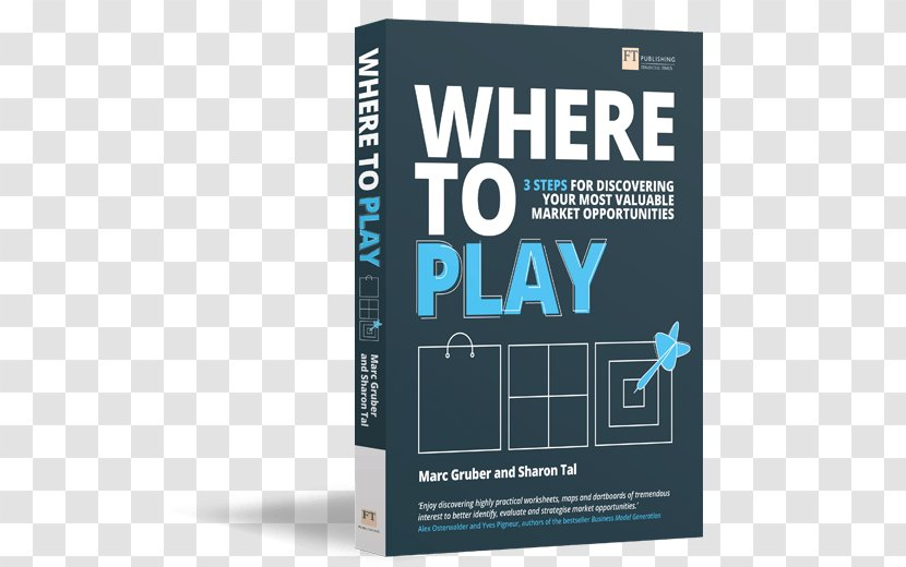 Where To Play: 3 Steps For Discovering Your Most Valuable Market Opportunities Entrepreneurship Book Zazzle Transparent PNG