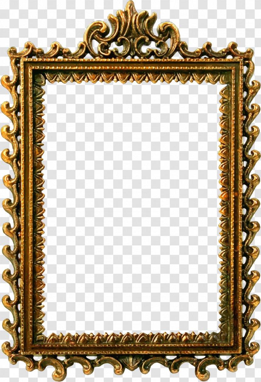 Picture Frames Clip Art Silhouette Ornate Labels Transparent Png