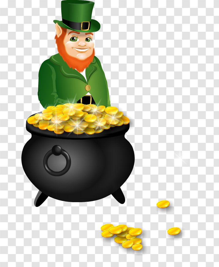 Breakfast Cereal Lucky Charms Leprechaun Saint Patricks Day Clip Art - Rainbow - Free Pictures Of Leprechauns Transparent PNG