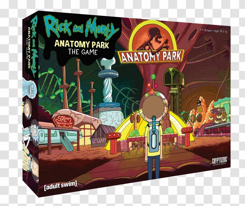 Rick Sanchez Cryptozoic Entertainment And Morty: Anatomy Park Morty Smith Total Rickall Cooperative Card Game - Recreation - Tilebased Video Transparent PNG