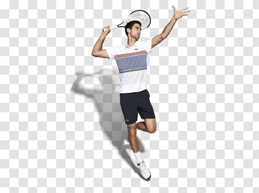 T Shirt Sportswear Lacoste Tennis Player Sleeve Novak Djokovic Transparent Png