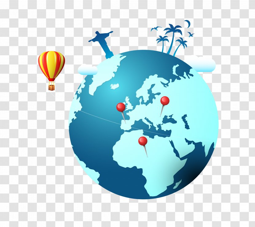 Trivia Crack QuizUp Questu2122 World Geography - Quizup - Vector Blue Green Creative Travel Location Transparent PNG