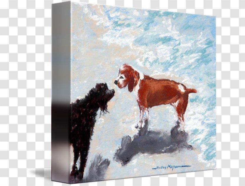 Dog Painting Transparent PNG