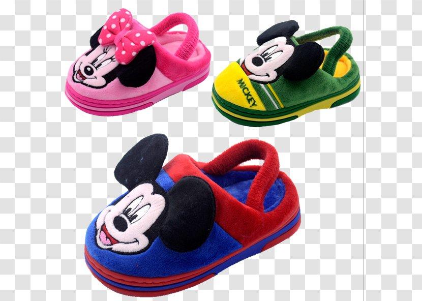 Slipper Mickey Mouse Minnie The Walt