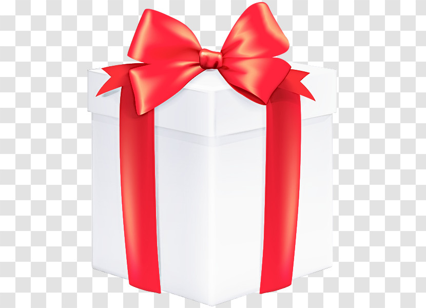 Ribbon Red Present Gift Wrapping Wedding Favors Transparent PNG