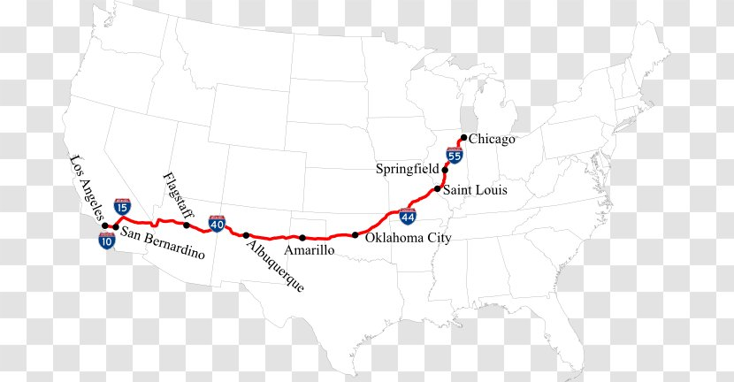 66 route google maps U.S. Route
