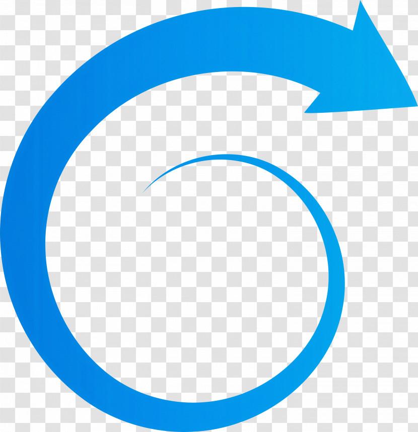 Spiral Arrow Transparent PNG