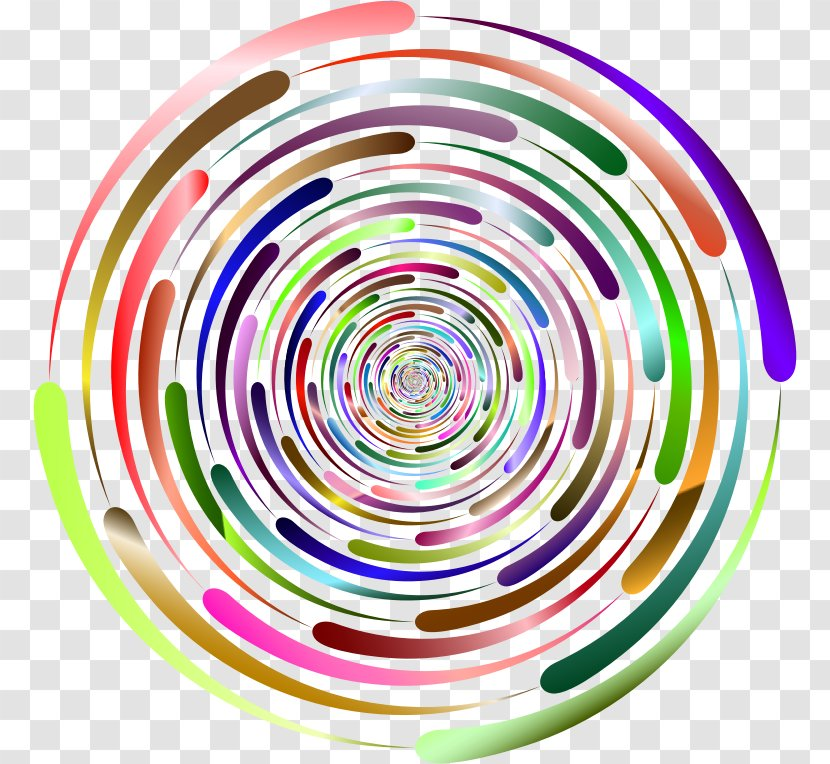 Spiral Circle Point Transparent PNG