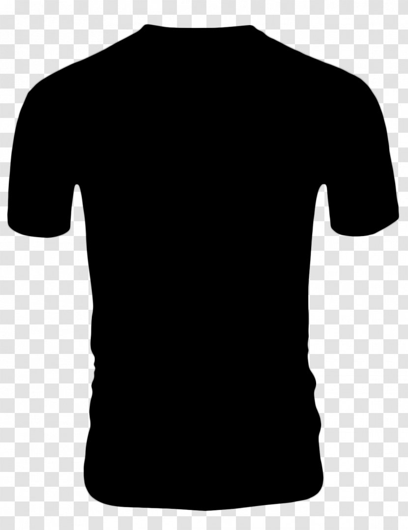 Mens Black T Shirt Clothing Sleeve Cartoon Tshirt Outerwear Transparent Png
