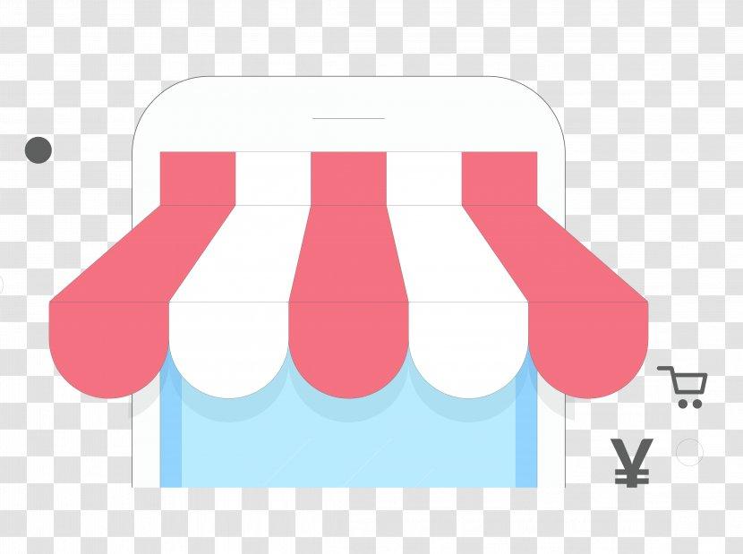 Shop Clip Art - Vector Material Cartoon Phone Transparent PNG