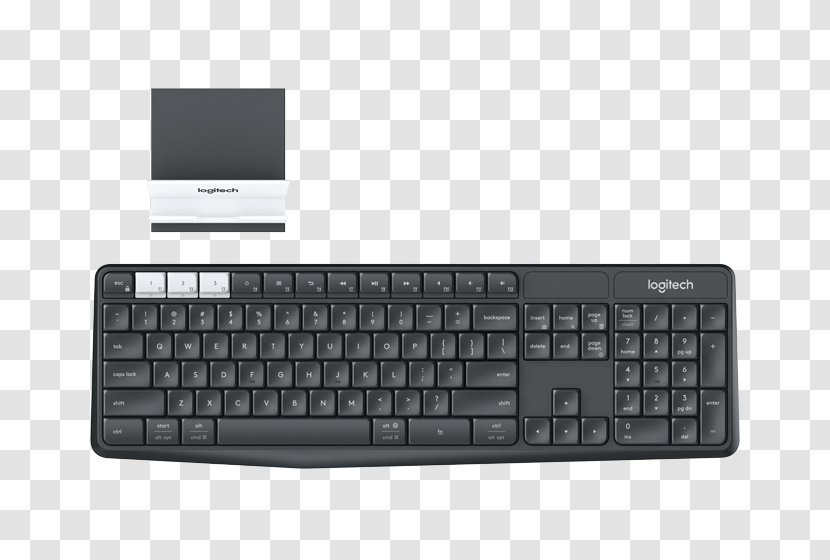 Computer Keyboard Mobile Phones Logitech Unifying Receiver Wireless Handheld Devices Transparent Png
