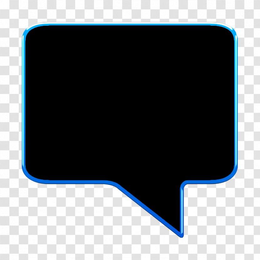 Bubble Icon Chat Comment Talk Rectangle Logo Transparent Png
