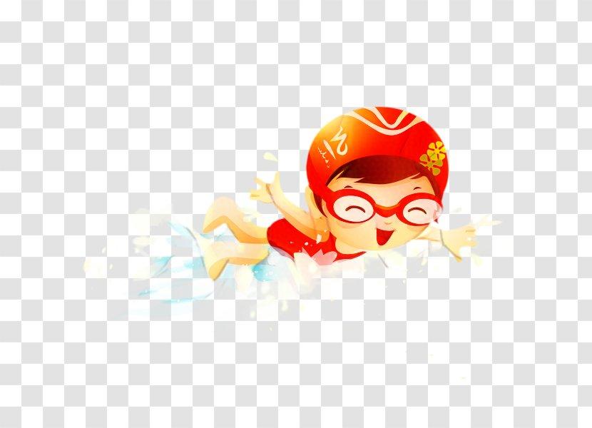 Swimming Cartoon Sports Costume Accessory Superhero Transparent Png