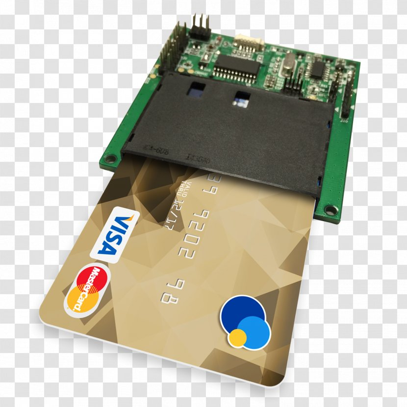 Smart Card Reader Integrated Circuits & Chips Electronics Wiring Diagram -  Emv - Sim Cards Transparent PNGPNGHUT