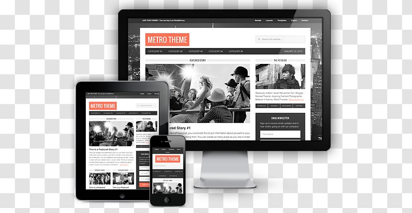 Responsive Web Design Wordpress Mobile App Phones Webseite Wordpress Creating An Exceptional Resume Transparent Png