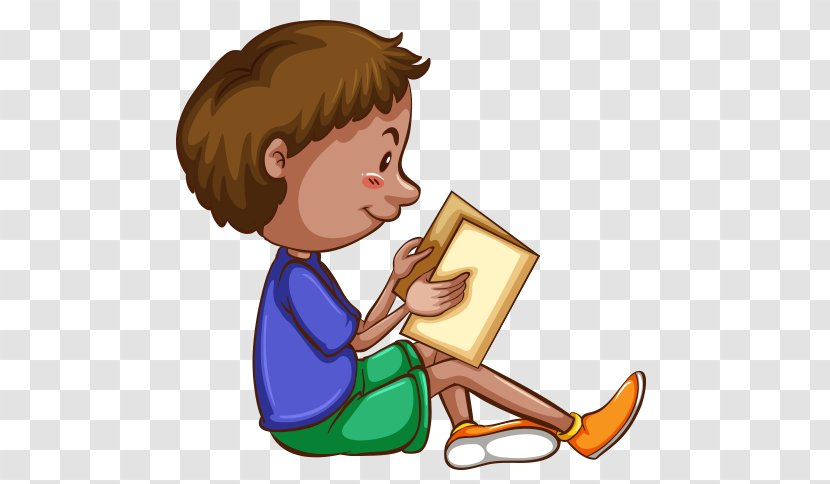 Vector Graphics Drawing Clip Art Child Book Sitting Kitap Transparent Png