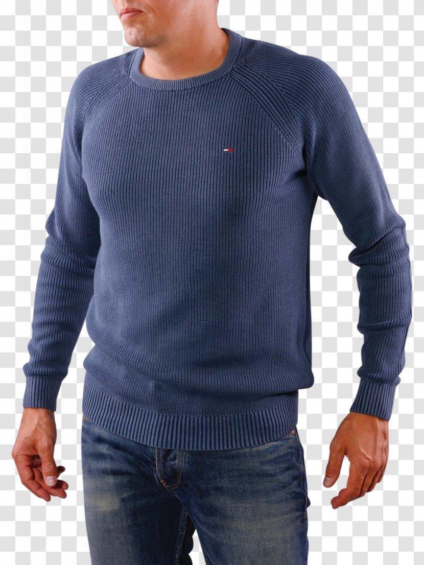 Sweater Sleeve Jeans Blue-winged Teal Denim Transparent PNG