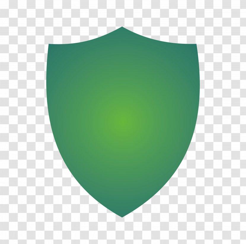 Shield Flat Design - Green Transparent PNG