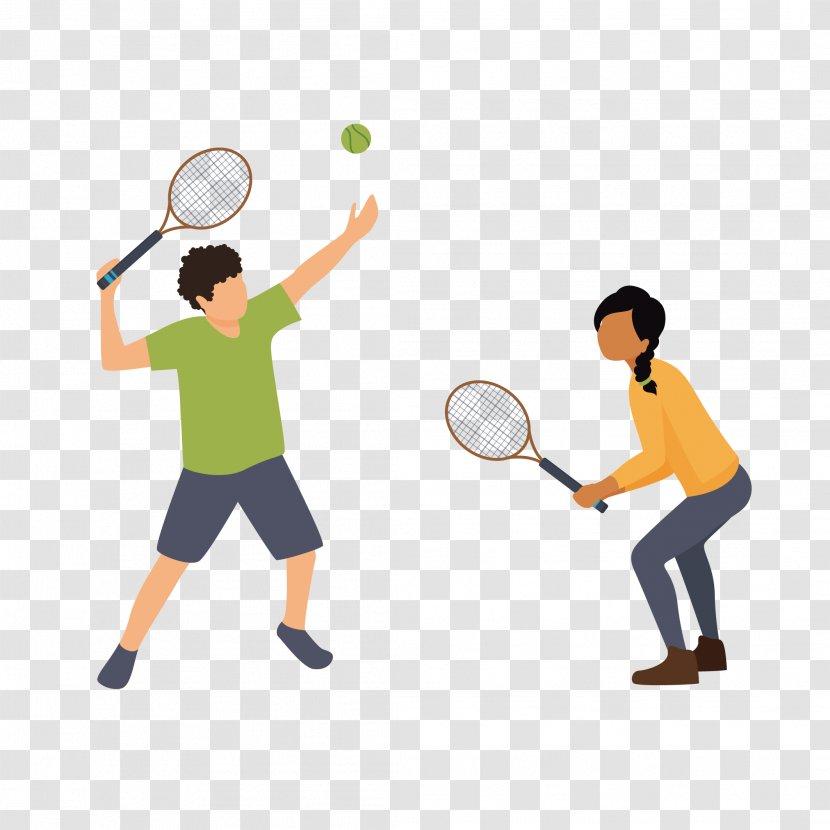 Rackets Sport Badminton Tennis - Men's Transparent PNG