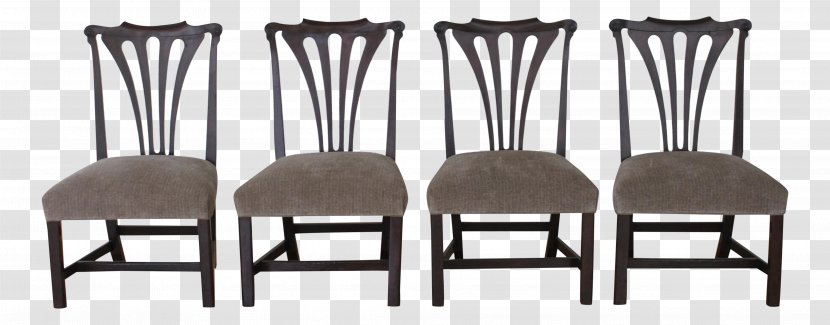Table Chair Dining Room Furniture Upholstery Regency Architecture Transparent Png