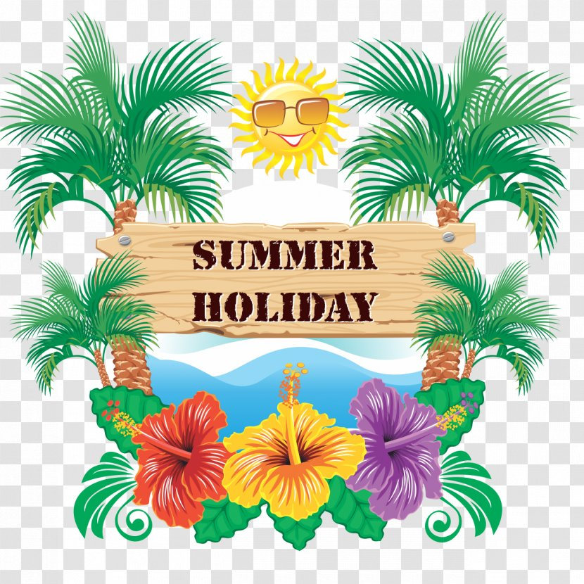 Holiday Summer Vacation Transparent PNG