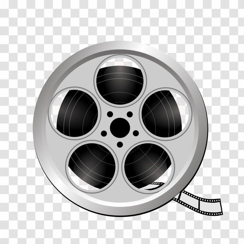 Film Reel Cinema Clip Art - Rim - Super 8 Transparent PNG
