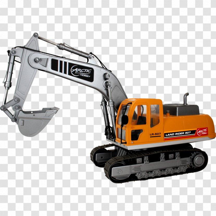 Caterpillar Inc Heavy Machinery Radio Controlled Car Excavator Radio Control Jcb Transparent Png