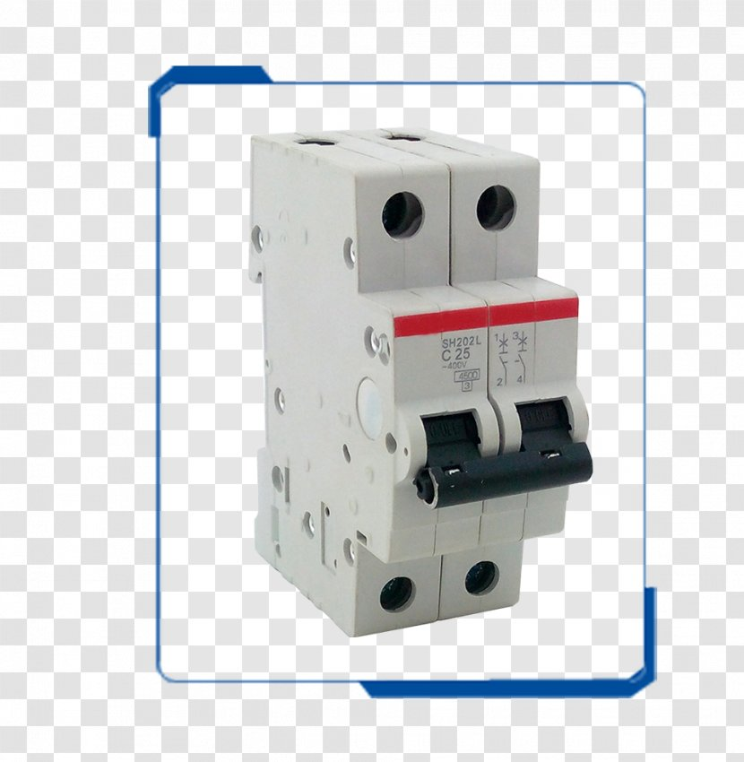 Circuit Breaker Wiring Diagram Residual-current Device Electric Power  Electrical Network - Electronic Component Transparent PNGPNGHUT