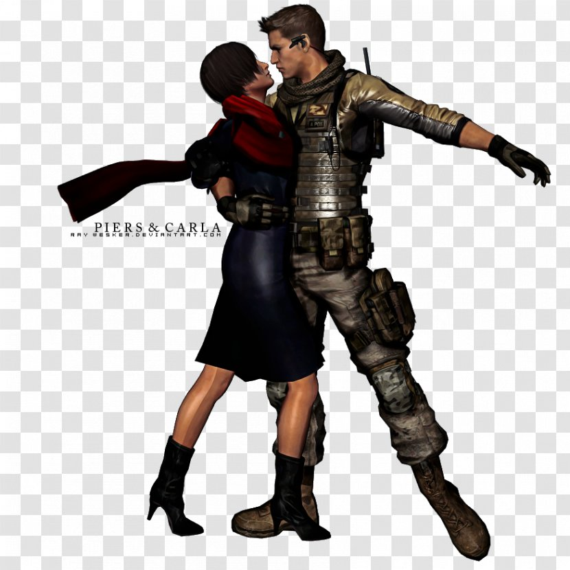 Resident Evil 6 Ada Wong Leon S Kennedy Chris Redfield Weapon Action Figure Transparent Png