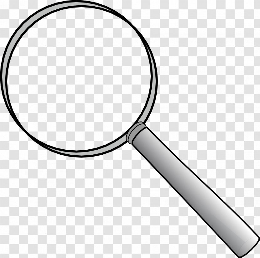 Magnifying Glass Clip Art Tennis Racket Loupe Transparent Png