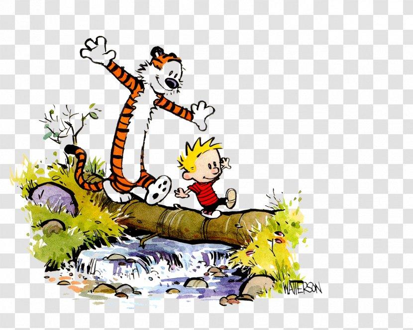Calvin And Hobbes Comic Strip Comics Image Transparent Png