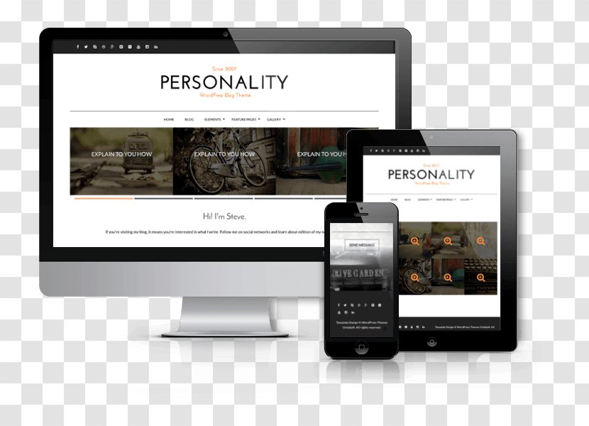 Responsive Web Design Car Template System Joomla Free Software Personality Gemajing Transparent Png