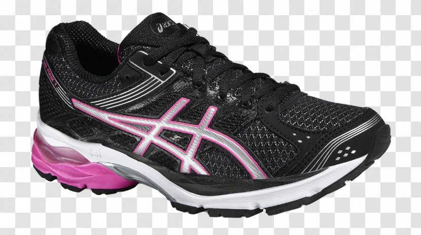 bolso Dependiente Mata  Asics Gel Pulse 7 Ladies Running Shoes - Shoe - Black Sports ShoesAdidas  Transparent PNG