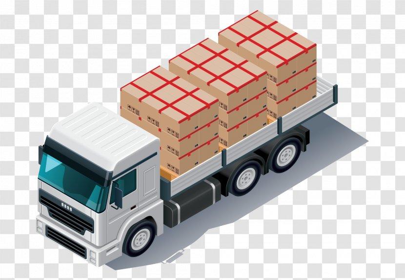Pickup Truck Cargo Semi-trailer - Load Transparent PNG