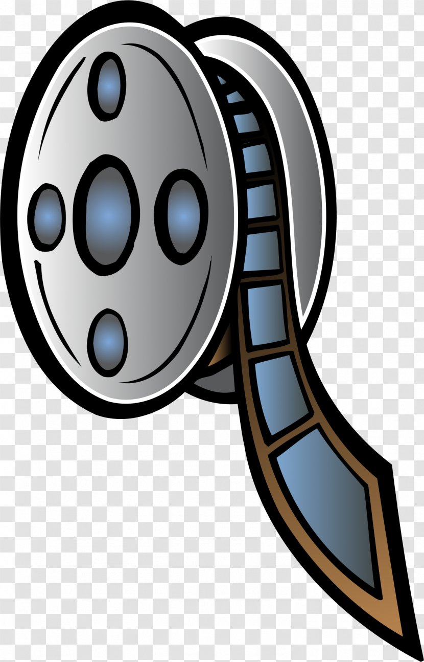 Film Reel Cinema Clip Art - Movie Projector Transparent PNG