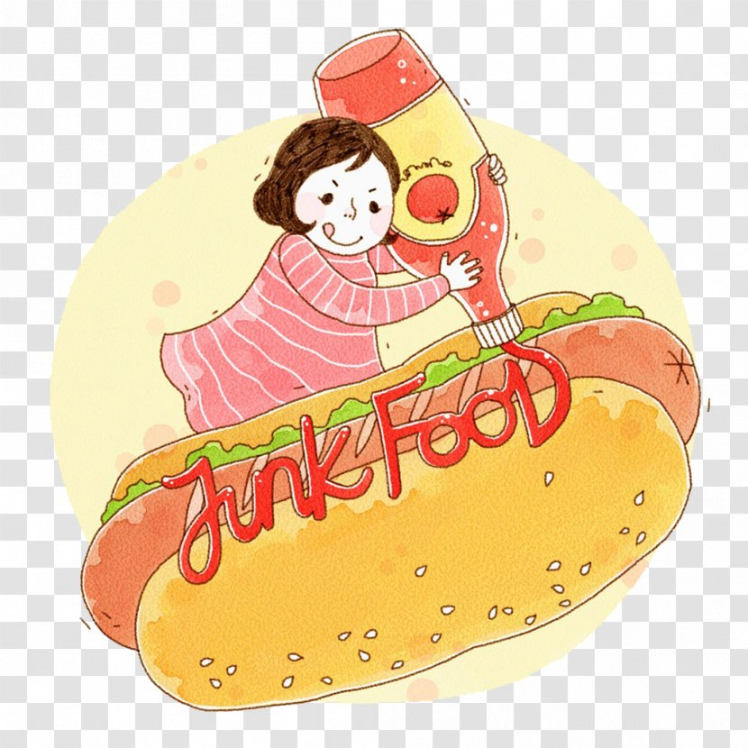 Hot Dog Hamburger Sausage Barbecue Fast Food - Dogs And Children Transparent PNG