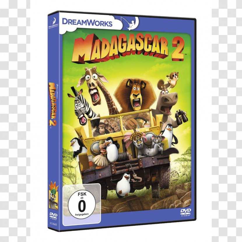 Madagascar Escape 2 Africa Dvd Film Madagascar 3 Europe S Most Wanted Pc Game Dvd Transparent Png