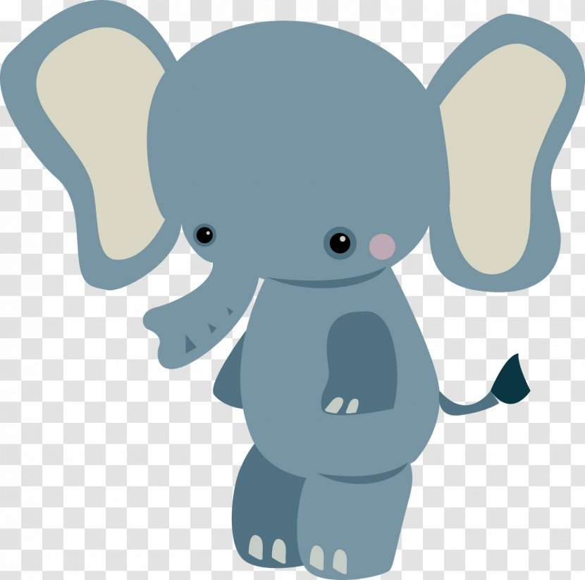Baby Jungle Animals Infant Clip Art - Elephants And Mammoths - Cute Little Elephant Transparent PNG