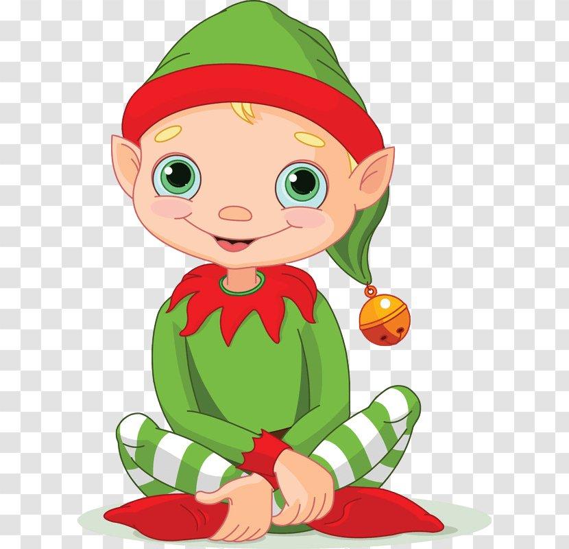 The Elf On Shelf Santa Claus Christmas Clip Art Cartoon Transparent Png