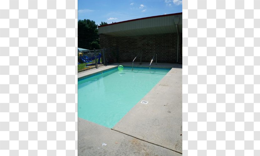 Swimming Pool Property Angle - Real Estate Transparent PNG