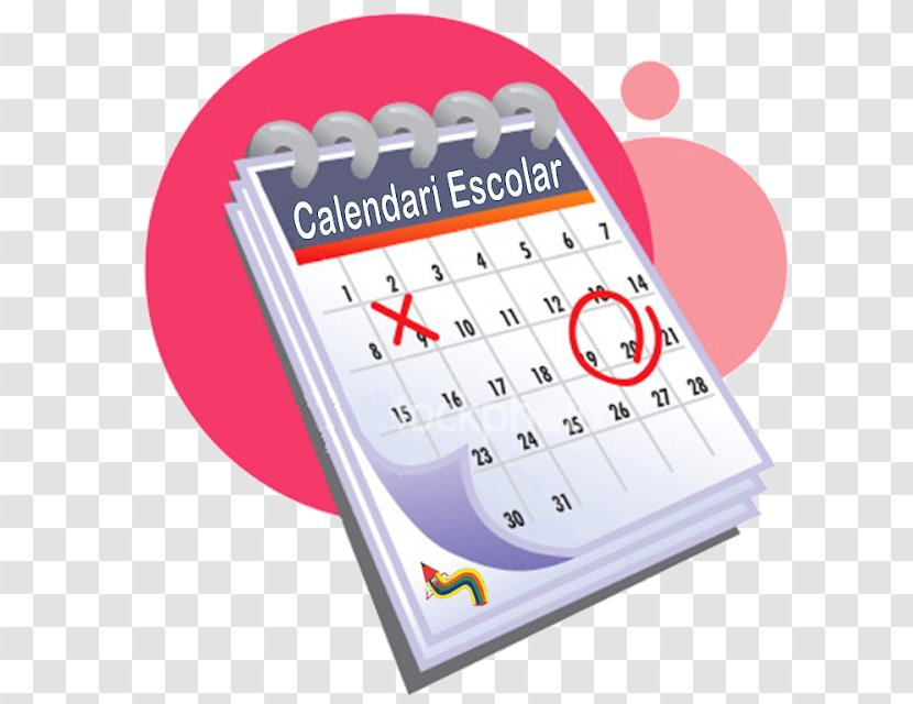 Calendar Date Online School Year - Calendaacuterio Map Transparent PNG