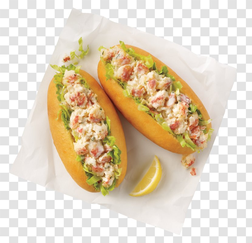 Cuisine Of The United States Lobster Roll Banh Mi Hot Dog Fast Food Transparent Png