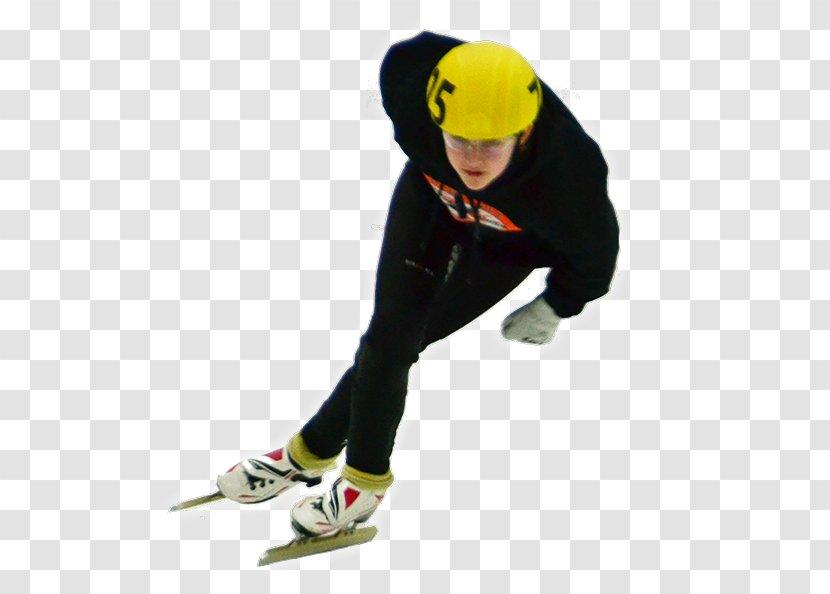 Short Track Speed Skating Ice Skates Winter Sport - Figure Transparent PNG