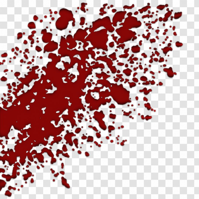 Blood Drawing Idea Clip Art - Red - Wounds Transparent PNG