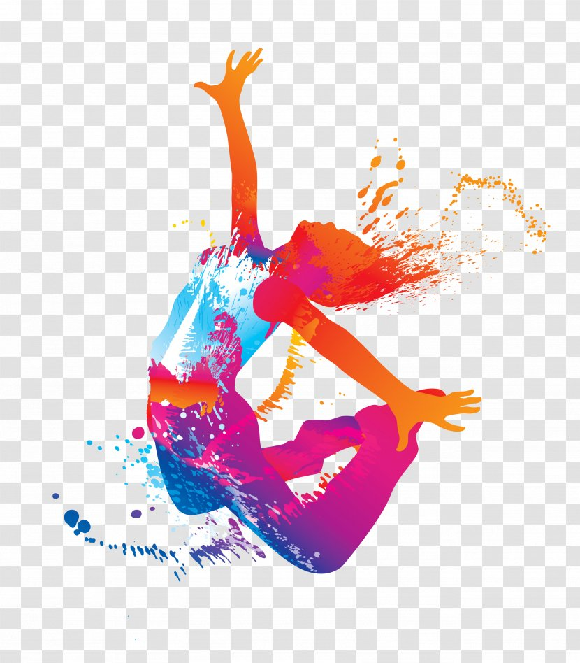 Ballet Dancer Clip Art Color Zumba Dance Fitness Transparent Png