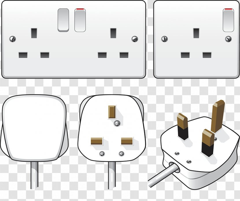 Ac Power Plugs And Sockets Electrical Wiring Cord Network Socket Electricity Home Outlet Switch Transparent Png