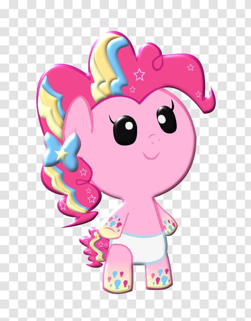 Pinkie Pie Rarity Applejack Rainbow Dash Pony - Watercolor - Cute Transparent PNG