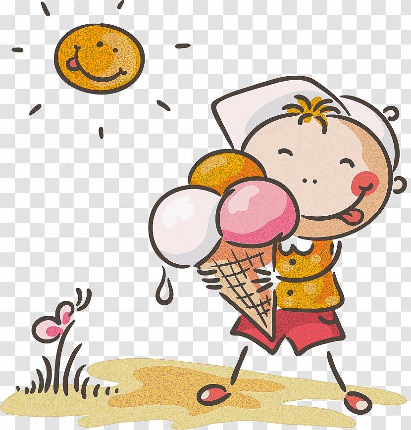 Summer Ice Cream - Pleased Happy Transparent PNG